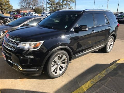 Pre-Owned 2019 Ford Explorer Limited FWD SUV