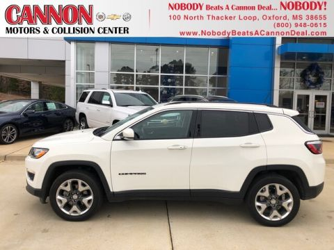 Pre-Owned 2019 Jeep Compass Limited 4WD SUV